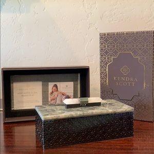 Kendra Scott Rectangle Filagree Box